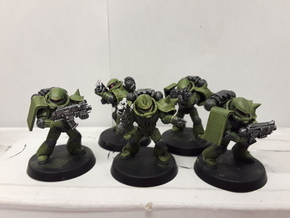 Zaku Squad Bitz for Space Marines in Smooth Fine Detail Plastic