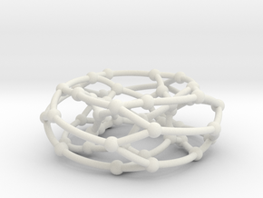 F50A graph on torus in White Natural Versatile Plastic