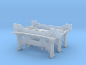 On3 K-37 Frame Crossties Model in Smooth Fine Detail Plastic