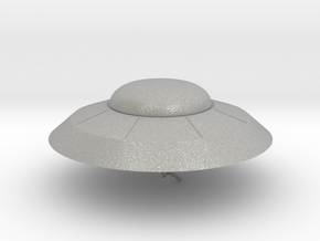 Earth vs The Flying Saucers UFO in Aluminum