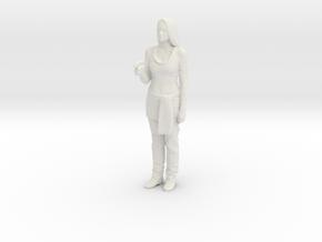 Printle V Femme 1051 - 1/18 - wob in White Natural Versatile Plastic