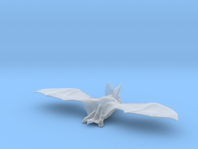 Printle Thing Bat - 1/24 in Smooth Fine Detail Plastic