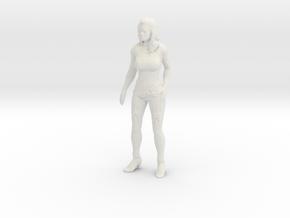 Printle V Femme 861 - 1/18 - wob in White Natural Versatile Plastic