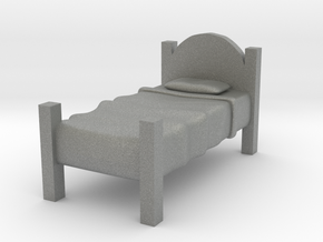 Twin Bed  in Gray Professional Plastic