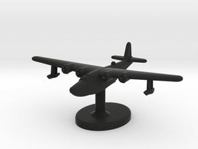 H8K (Emily) Flying Boat (Japan) in Black Premium Versatile Plastic