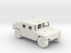 m966a1 285 scale in White Natural Versatile Plastic