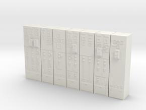 Control room 1 in White Natural Versatile Plastic
