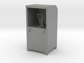 Garage Oil Dispenser Cabinet 1:24 Scale in Gray PA12