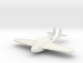 (1:144) Gotha P.55 Flying Bomb in White Natural Versatile Plastic