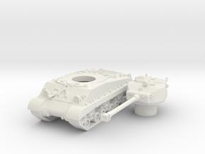 M4A3E8 (hollow) scale 1/100 in White Natural Versatile Plastic