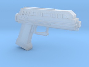 "DC-17 Blaster pistol for 6"" action figures in Smooth Fine Detail Plastic"