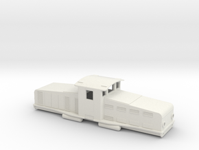 Swedish SJ accumulator locomotive type Öd - H0-sca in White Natural Versatile Plastic