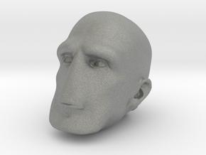 Morph One:12 Head #3 in Gray Professional Plastic: 1:12