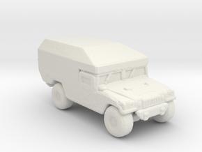 M997 Ambulance 220 scale in White Natural Versatile Plastic