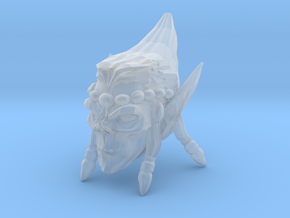 Interplanar villian head 1 in Smooth Fine Detail Plastic