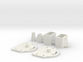 Frame Swivel for EPONG v2 in White Natural Versatile Plastic