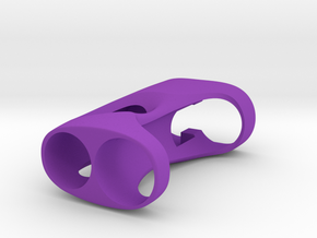 Y_mod_M V1.0 (Mosfet) Body Only in Purple Processed Versatile Plastic