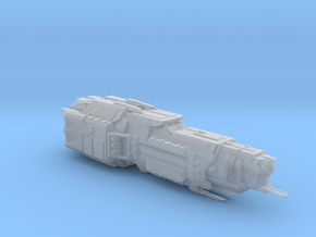 UNCS Cruiser End Of Days, high detail in Smooth Fine Detail Plastic