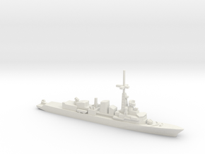 Georges Leygues-class frigate, 1/1800 in White Natural Versatile Plastic