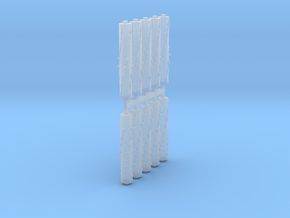 SciFi Egyptians Rods x10 #4 in Smooth Fine Detail Plastic
