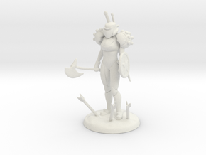Weapons Master in White Natural Versatile Plastic
