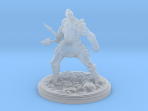 Javelin Orc in Smooth Fine Detail Plastic