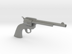1/3 Scale Colt Peacemaker in Gray PA12
