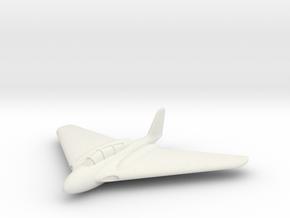 (1:285) Messerschmitt Me P.1112 Nächtjager in White Natural Versatile Plastic