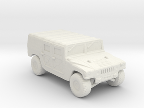 M998a1 Troop-Cargo 160 scale in White Natural Versatile Plastic
