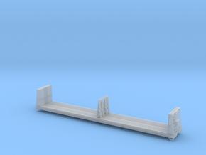 MEC & BAR Pulpwood Flatcar 1-87 HO Scale in Smooth Fine Detail Plastic