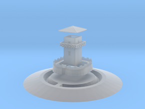 Gask Ridge Romans Limes Watchtower (6mm Scale) in Smooth Fine Detail Plastic