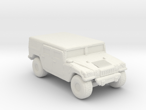 M1035a1 Hardtop 160 scale in White Natural Versatile Plastic