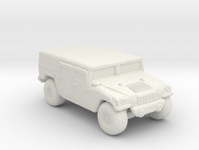 M1035a1 Hardtop 220 scale in White Natural Versatile Plastic