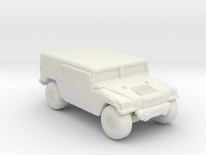 M1035a1 Hardtop 220 scale in White Natural Versatile Plastic