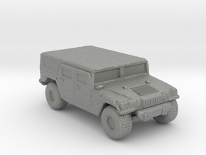M1035a1 Hardtop 220 scale in Gray PA12