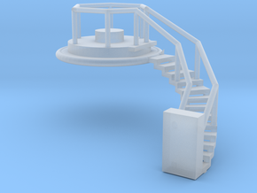 Spherical Ladder - part 3 Chemical Tank N 160:1 Sc in Smooth Fine Detail Plastic