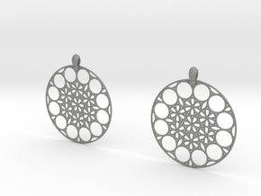 NMB3D Earrings in Gray PA12