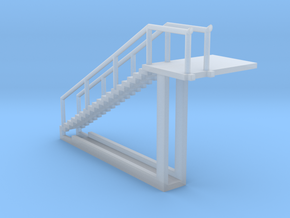 Spherical Ladder - part 1 Chemical Tank N 160:1 Sc in Smooth Fine Detail Plastic