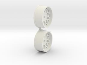Offset-1,5-front-BBS-Rims-MiniZ-AWD in White Natural Versatile Plastic