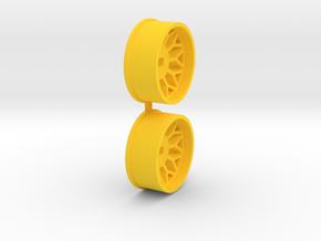 Offset-2,5-front-BBS-Rims-MiniZ-AWD in Yellow Processed Versatile Plastic