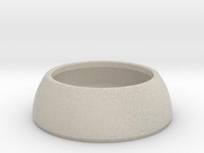 DOMOCLIP Paperclip Jar in Natural Sandstone