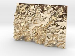 Ullswater in 14k Gold Plated Brass