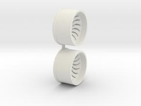 Offset-3,0-rear-Sickl-Rims-MiniZ-AWD in White Natural Versatile Plastic