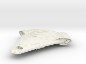 """Federation Wallace Class  Scout 3"""" long in White Natural Versatile Plastic"""