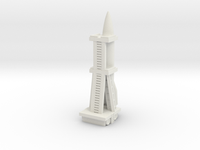 V-2 Rocket (A4) Germany in White Natural Versatile Plastic