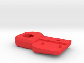 601 602 single razor holder plastic VER2 in Red Processed Versatile Plastic