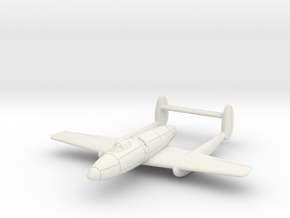(1:144) Mansyū Ki-98 in White Natural Versatile Plastic