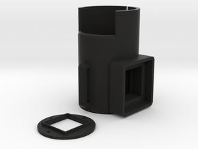 Angle Sight Riflescope GoPro Hero Adapter in Black Natural Versatile Plastic