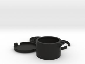Airsoft Riflecope Protector set 58mm in Black Natural Versatile Plastic