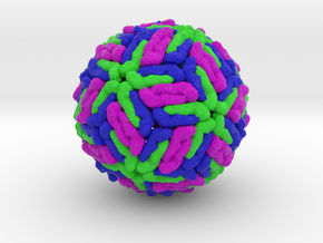 Dengue Virus in Full Color Sandstone